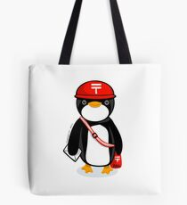 Penguin Postmaster Japan Tote Bag