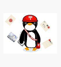 Penguin Postmaster Japan Photographic Print