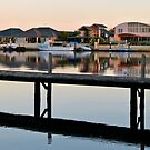 jetty in the marina by SUBI