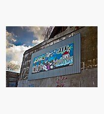 Street Mural Photographic Print