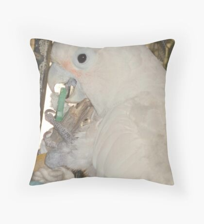 MARGARET AT PLAY Throw Pillow