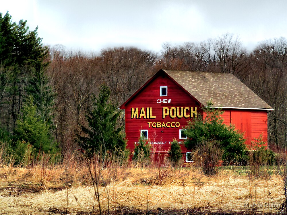 Quot Mail Pouch Barn Quot By Marcia Rubin Redbubble
