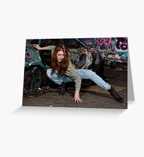 Ready to Attack Greeting Card