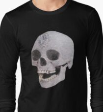 """Adelaide's Laughing Skull"" Clothing Long Sleeve T-Shirt"