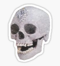 """Adelaide's Laughing Skull"" Clothing Sticker"