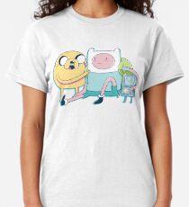 Camiseta clásica Amigos de aventura (Hora de aventura)
