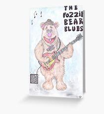The Fozzie Bear Blues. Greeting Card