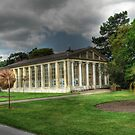 Nash Conservatory at Kew Gardens, London by John Hare