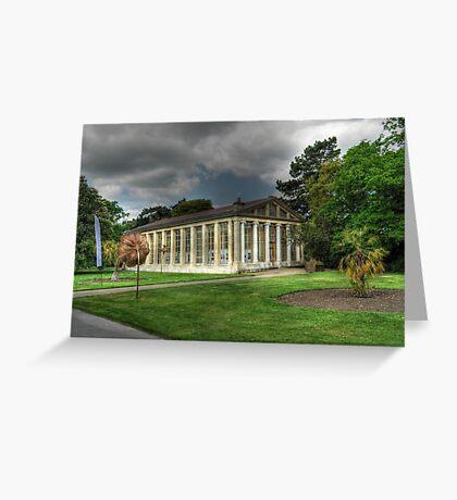 Nash Conservatory at Kew Gardens, London Greeting Card