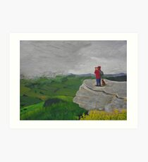 The Hillwalkers Art Print