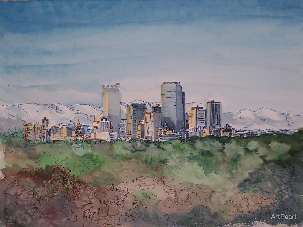 Denver Skyline by ArtPearl
