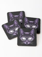 The God of Knowledge Coasters