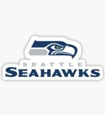 hawk logo Sticker