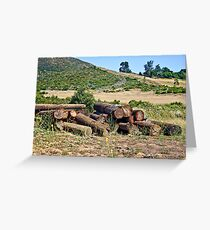 East County Landscape Greeting Card