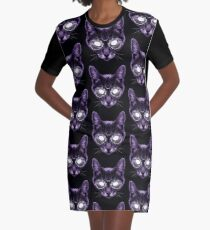 The God of Knowledge Graphic T-Shirt Dress