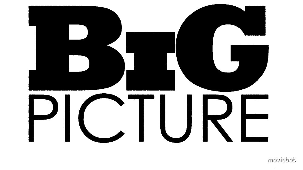BIG PICTURE With MovieBob (Logo) by moviebob