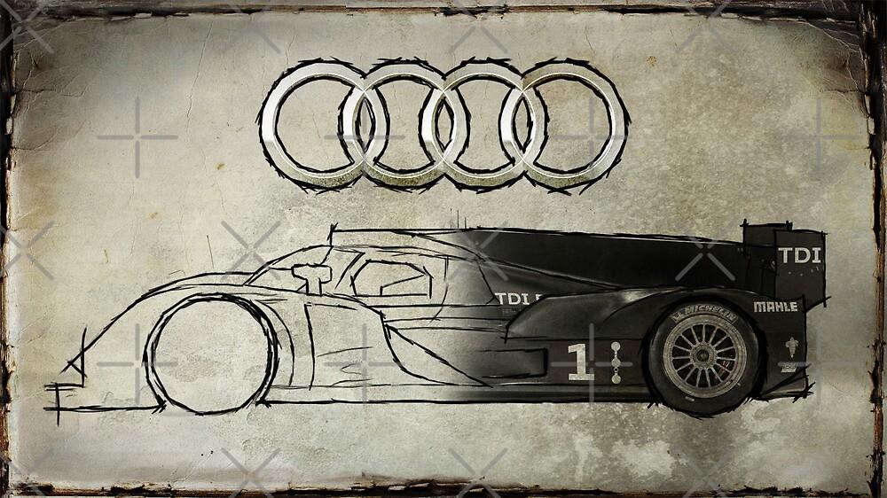 Audi R18 - Development by AndrewBerry