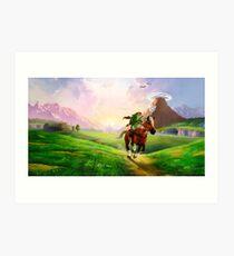 Zelda! Art Print