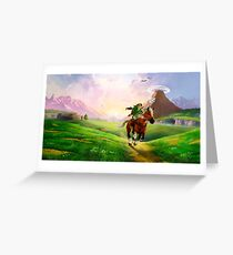 Zelda! Greeting Card