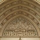 Last Supper & Road to Emmaus Tympanum by Lee d'Entremont