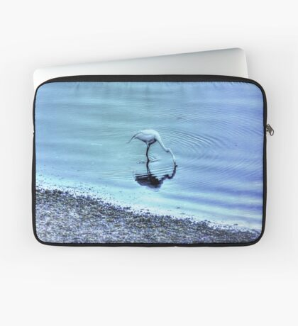 Egret in HDR Laptop Sleeve