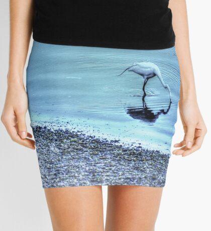 Egret in HDR Mini Skirt