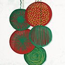 Christmas Baubles (Abstract) by Sybille Sterk
