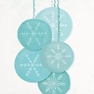 Christmas Baubles (Snowflakes) by Sybille Sterk