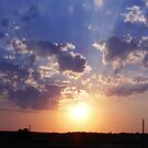 Farm Sunset by Essenique