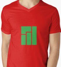 Manjaro Linux Mens V-Neck T-Shirt