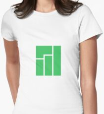Manjaro Linux Women's Fitted T-Shirt