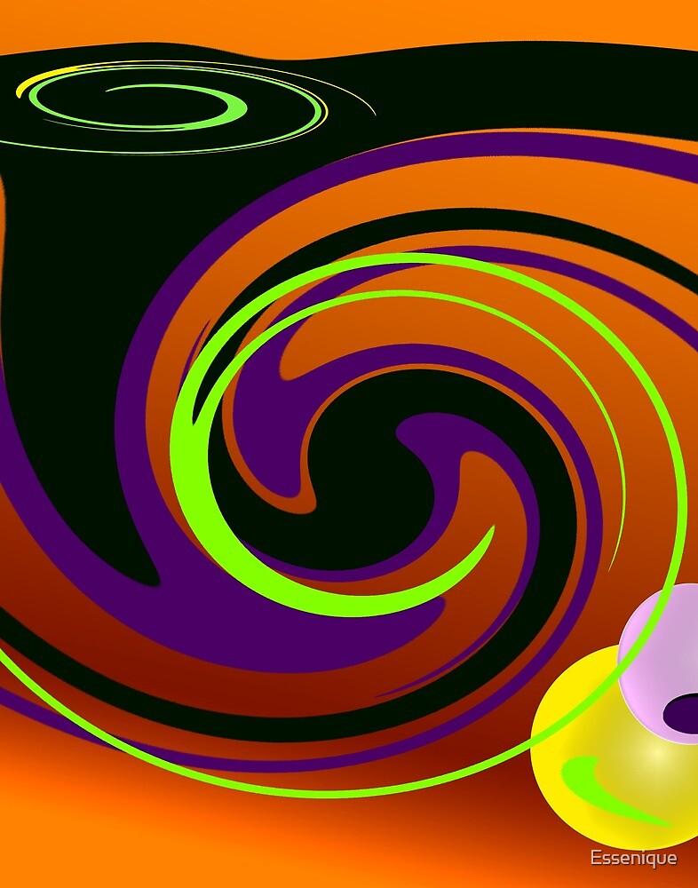 Sunset Swirl by Essenique