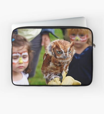 """Would someone get these kids off my back!"" Laptop Sleeve"