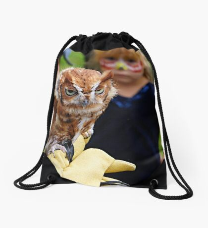 """""""Would someone get these kids off my back!"""" Drawstring Bag"""