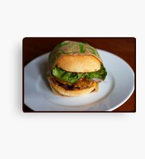 Burger! Canvas Print