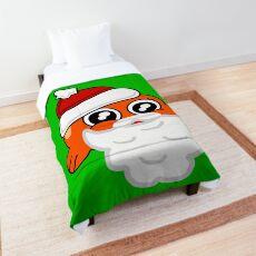 Santa Darwin Watterson Comforter