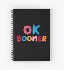 Ok boomer Spiral Notebook