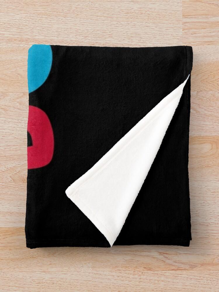 Alternate view of Ok boomer Throw Blanket