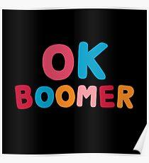 Ok boomer Poster