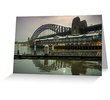 Dawn at the Harbour Greeting Card