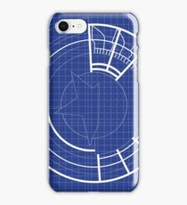 Blueprint Prototype Shield iPhone Case/Skin
