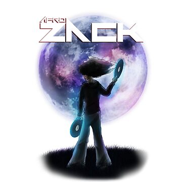 Afro Zack Moon by chaosblare