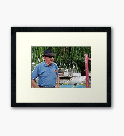 Portrait of a Stranger 8 Framed Print
