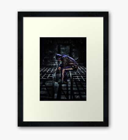 Found Guilty Framed Print
