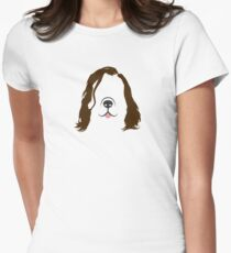 The Hound Dog Womens Fitted T-Shirt