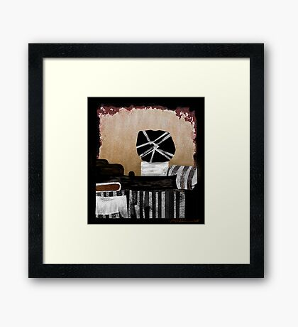 """""""Unforseeable Outcome"""" Framed Print"""