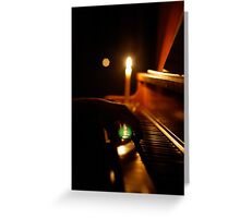 Earth Hour Concert Greeting Card
