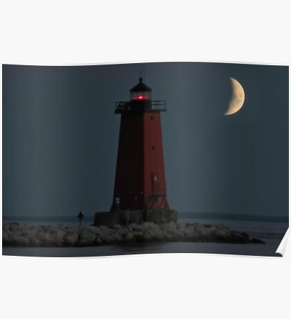 Manistique Lighthouse Poster