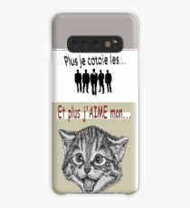 And the more I LOVE my cat ... Case/Skin for Samsung Galaxy