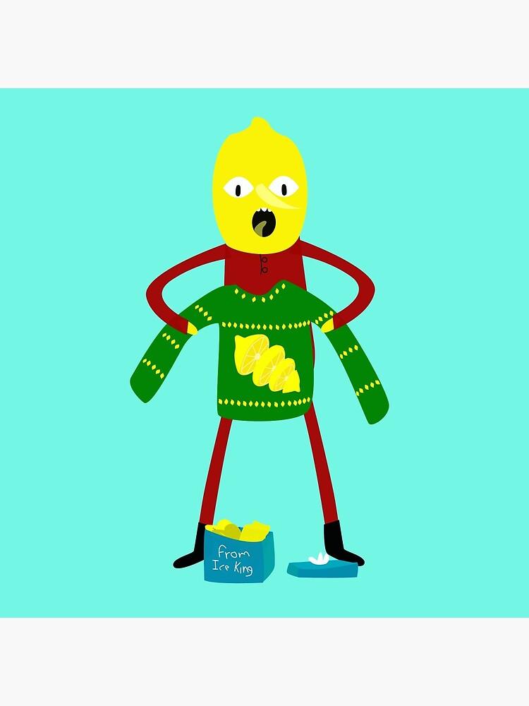 Lemongrab it's christmas!! by robinm3